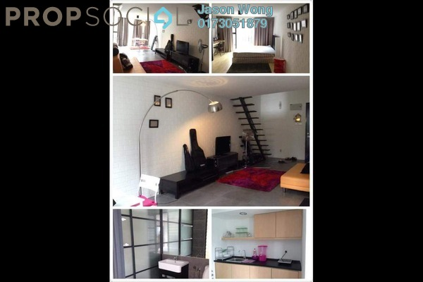 For Rent Duplex at Empire Damansara, Damansara Perdana Leasehold Fully Furnished 1R/1B 1.7k