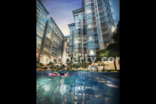 For Sale Condominium at V Residence @ Sunway Velocity, Cheras Freehold Semi Furnished 2R/2B 980k