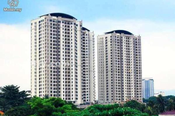 For Rent Condominium at Rivercity, Sentul Freehold Semi Furnished 3R/2B 2.2k