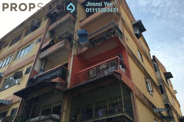 For Sale Apartment at Taman Sri Muda, Shah Alam Freehold Unfurnished 3R/2B 150k