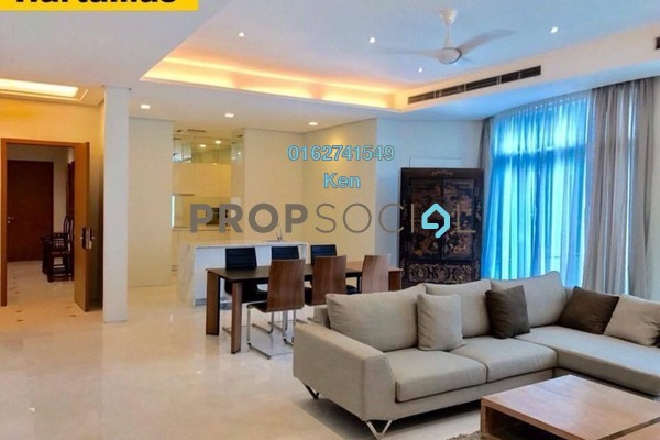 For Rent Condominium at Quadro Residences, KLCC Freehold Fully Furnished 4R/5B 11k