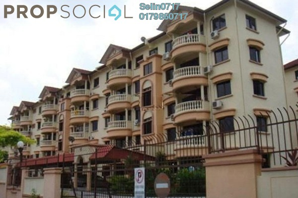 For Sale Apartment at Springfield, Sungai Ara Freehold Semi Furnished 3R/2B 530k