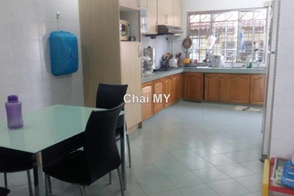 For Sale Terrace at Jalan Merak, Bandar Puchong Jaya Freehold Unfurnished 4R/3B 960k