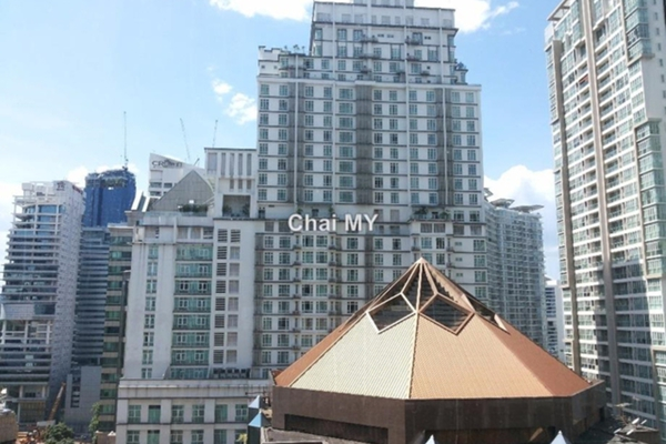 For Sale Serviced Residence at Soho Suites, KLCC Leasehold Semi Furnished 2R/2B 1.06m