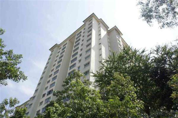 For Rent Condominium at Green Avenue, Bukit Jalil Freehold Semi Furnished 3R/2B 1.6k