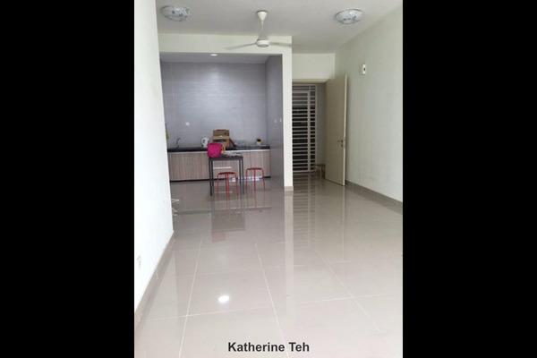 For Rent Condominium at 1 Petaling, Sungai Besi Leasehold Semi Furnished 3R/2B 1.15k