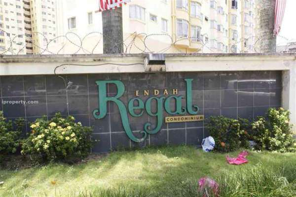 For Rent Condominium at Endah Regal, Sri Petaling Leasehold Semi Furnished 3R/2B 1.7k
