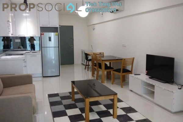 For Rent Serviced Residence at Summer Suites, KLCC Leasehold Fully Furnished 0R/1B 2.2k