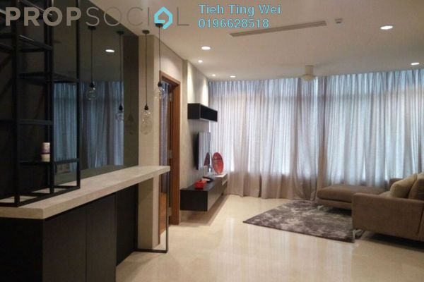 For Rent Condominium at Vortex Suites & Residences, KLCC Freehold Fully Furnished 2R/0B 3.4k