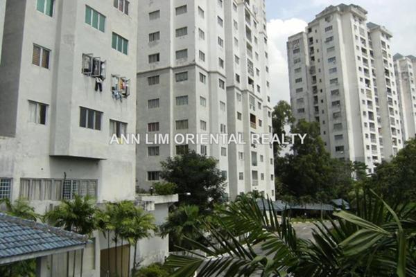 For Rent Condominium at Greenpark, Old Klang Road Leasehold Semi Furnished 3R/2B 1.2k