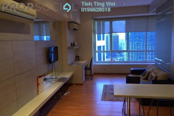For Rent Serviced Residence at Park View, KLCC Freehold Fully Furnished 0R/1B 2.2k