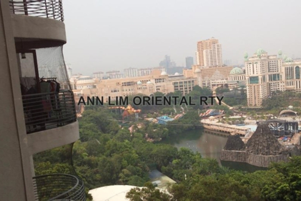 For Sale Condominium at Lagoon View, Bandar Sunway Leasehold Fully Furnished 4R/2B 850k