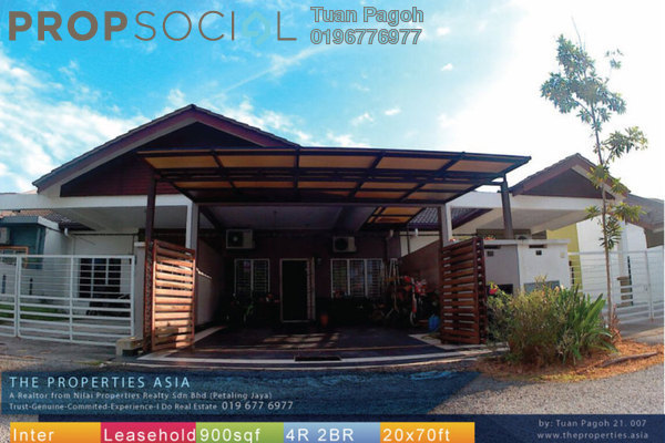 For Sale Terrace at Ixora Hill Park, Bandar Baru Salak Tinggi Freehold Fully Furnished 4R/2B 390k