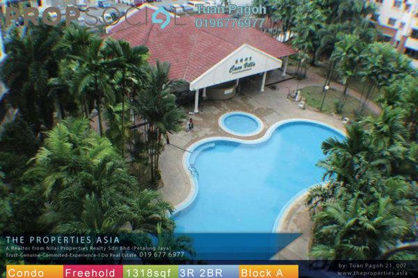 For Sale Condominium at Casa Villa, Kajang Freehold Semi Furnished 3R/2B 350k