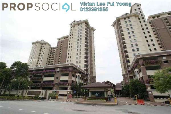 For Sale Condominium at Casa Indah 1, Tropicana Leasehold Semi Furnished 4R/3B 820k