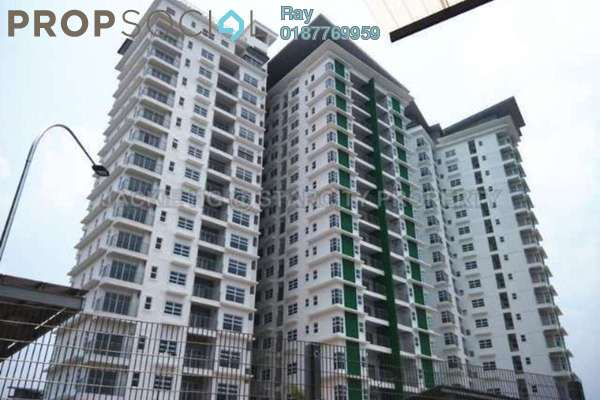 For Rent Condominium at D'Pines, Pandan Indah Leasehold Semi Furnished 3R/2B 2.3k