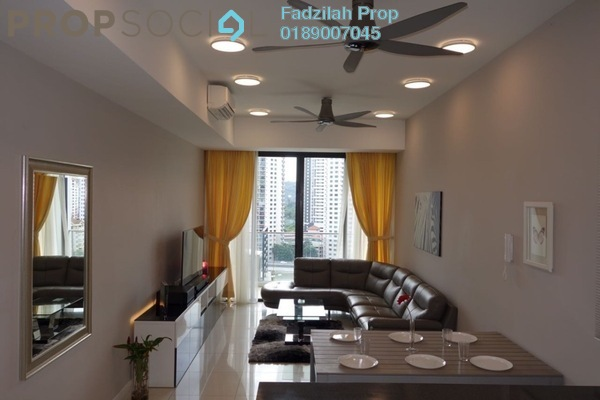 For Sale Condominium at Icon Residence (Mont Kiara), Dutamas Freehold Fully Furnished 2R/2B 1.28m