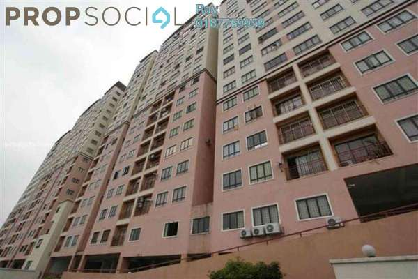 For Rent Condominium at Glen View Villa, Cheras Leasehold Semi Furnished 3R/2B 1.7k