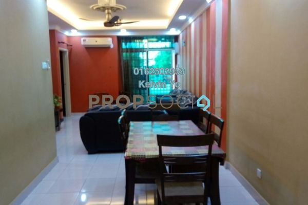 For Rent Apartment at Nova I, Segambut Freehold Fully Furnished 3R/2B 1.3k