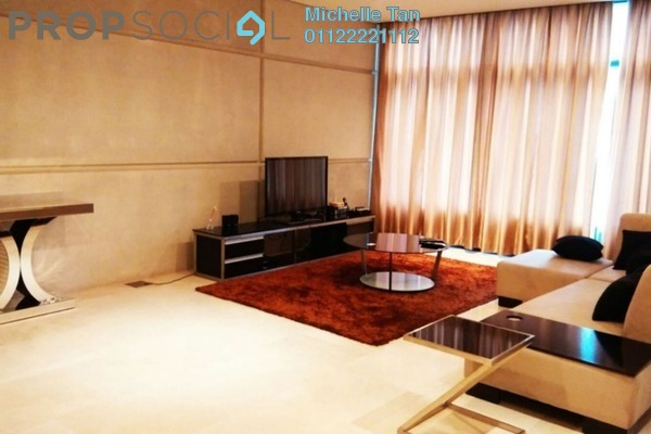 For Rent Condominium at The Troika, KLCC Freehold Fully Furnished 3R/5B 9k