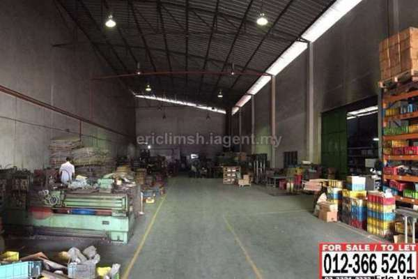 For Sale Factory at Taman Meru, Klang Freehold Unfurnished 1R/2B 3.3m