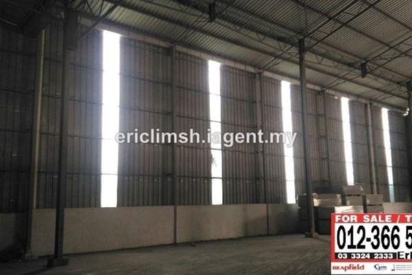 For Rent Factory at Pandamaran Industrial Estate, Port Klang Freehold Unfurnished 1R/1B 13k