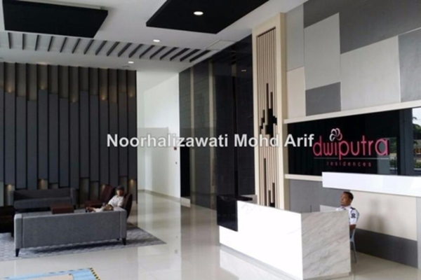 For Rent Condominium at Dwiputra Residences, Putrajaya Leasehold Semi Furnished 3R/3B 2.2k