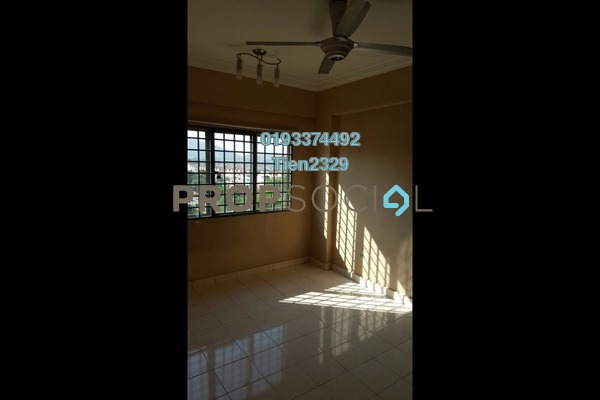 For Rent Apartment at Damansara Sutera, Kepong Freehold Semi Furnished 3R/2B 1.35k