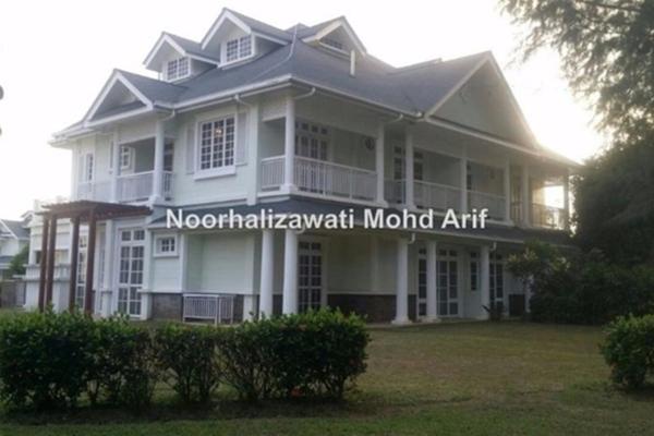 For Rent Semi-Detached at Precinct 18, Putrajaya Freehold Semi Furnished 5R/5B 5k