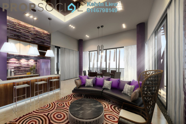 For Sale Condominium at 3 Kia Peng, KLCC Freehold Fully Furnished 4R/4B 2.8m