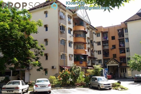 For Sale Apartment at Taman Sungai Besi, Sungai Besi Freehold Unfurnished 3R/2B 240k