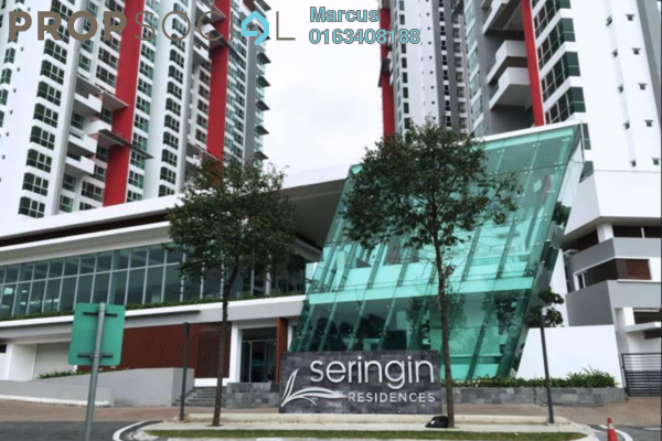 For Sale Condominium at Seringin Residences, Kuchai Lama Freehold Semi Furnished 3R/2B 1.18m