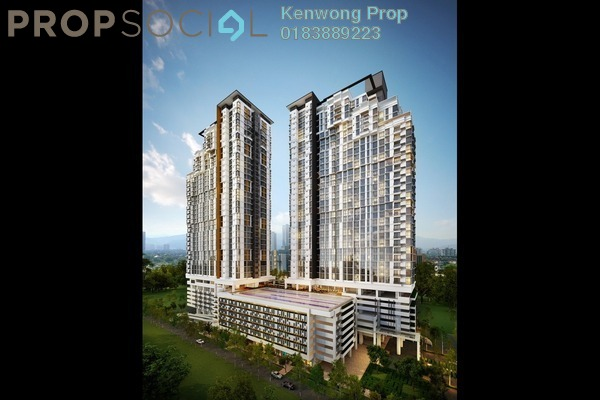 For Sale Condominium at Shamelin Star Serviced Residences, Cheras Leasehold Semi Furnished 2R/2B 530k