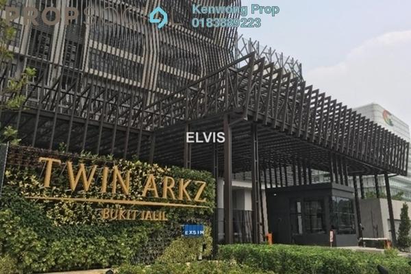 For Rent Condominium at Twin Arkz, Bukit Jalil Freehold Semi Furnished 3R/2B 2.65k