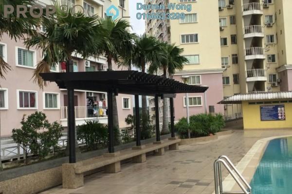 For Rent Condominium at Juta Mines, Seri Kembangan Leasehold Semi Furnished 3R/2B 1.2k
