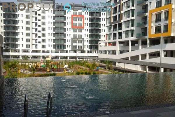 For Rent Condominium at Mahkota Garden Condominium, Bandar Mahkota Cheras Freehold Semi Furnished 4R/3B 1.1k