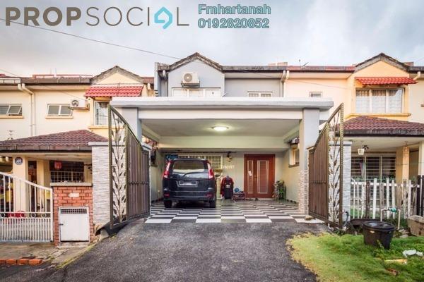 For Sale Terrace at Taman Puncak Jalil, Bandar Putra Permai Freehold Unfurnished 4R/3B 550k