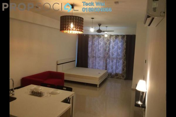 For Rent SoHo/Studio at Pacific Place, Ara Damansara Leasehold Fully Furnished 0R/1B 1.6k