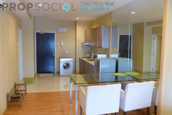 For Rent Condominium at Park View, KLCC Freehold Fully Furnished 0R/1B 1.9k