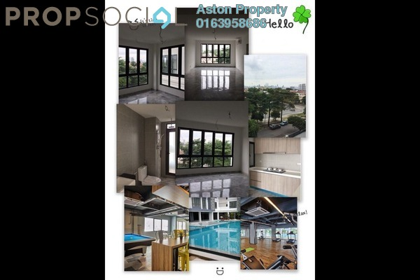 For Rent Condominium at The Re:sident @ Ampang South, Ampang Leasehold Semi Furnished 3R/2B 1.8k