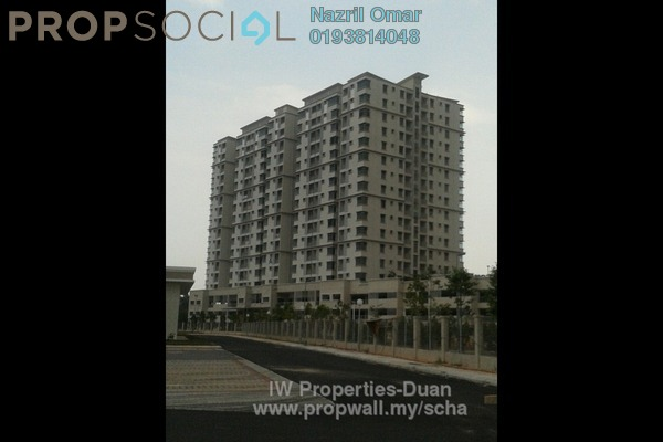 For Rent Condominium at Kristal View, Shah Alam Leasehold Semi Furnished 3R/2B 1.6k