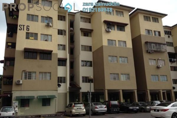 For Sale Apartment at Seri Tanjung Apartment, Kajang Freehold Semi Furnished 3R/2B 190k