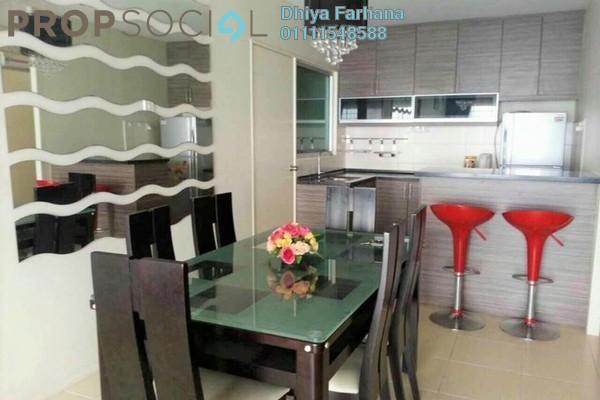 For Sale Condominium at Platinum Lake PV12, Setapak Leasehold Fully Furnished 3R/2B 525k