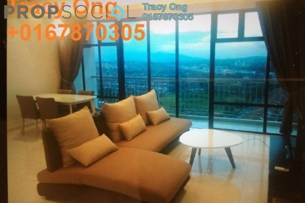For Rent Serviced Residence at The Sky Residence, Cheras Freehold Fully Furnished 3R/2B 2.6k
