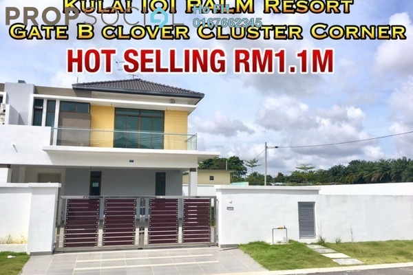 For Sale Semi-Detached at Taman Lagenda Putra, Kulai Freehold Unfurnished 5R/5B 1.1m