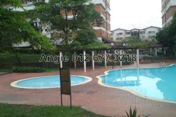 For Rent Condominium at Evergreen Park, Bandar Sungai Long Leasehold Semi Furnished 3R/2B 1k