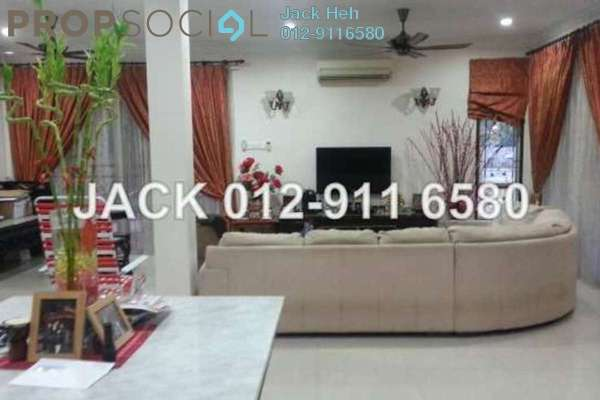 For Sale Terrace at Kemuning Utama, Shah Alam Freehold Semi Furnished 6R/6B 2m