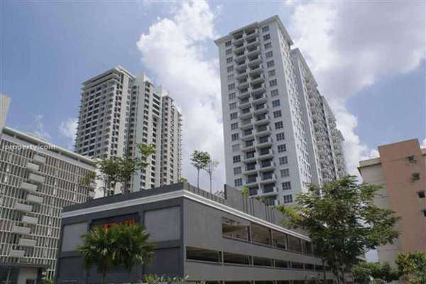 For Rent Condominium at Ken Damansara III, Petaling Jaya Leasehold Semi Furnished 2R/2B 2.1k