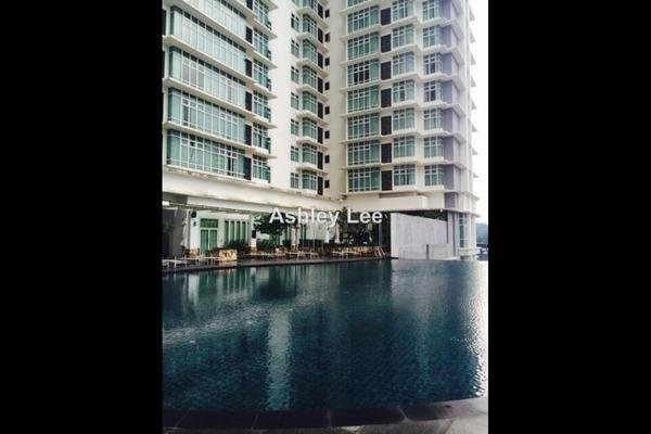 For Sale Condominium at Dua Sentral, Brickfields Leasehold Semi Furnished 2R/2B 969k