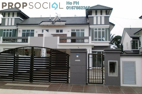For Sale Semi-Detached at Taman Lagenda Putra, Kulai Freehold Unfurnished 5R/5B 1.0百万